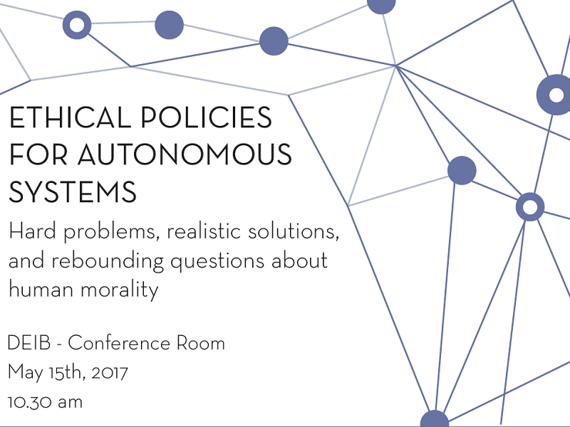 moral and ethical implications of the driverless As soon as the talk turns to driverless cars, questions about ethic dilemmas arises  the ethical problem of the ethical dilemma with driverless cars mario herger february 20, 2017 february 22, 2017 autonomous car, ethics, uncategorized post navigation previous  and that brings us closer to the moral dilemma the trolley-problem and.