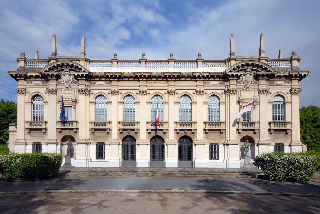 Facade of the Rectorate of the Polytechnic